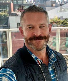 Mustache Styles, Beard No Mustache, Moustache, Scruffy Men, Hairy Men, Silver Foxes Men, Mens Hairstyles With Beard, Bear Men, Beard Styles