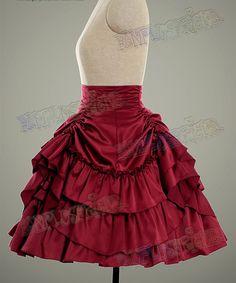 BUSTLE skirt side