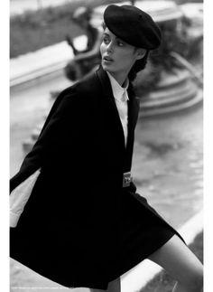 parisian chic | #blackandwhite #classic