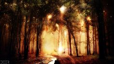 The Enchanted Forest by Tanef on deviantART