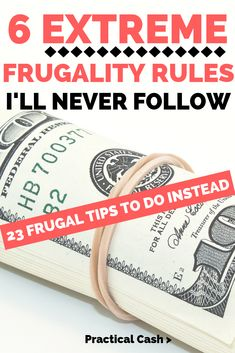 Frugal tips from the extremely frugal teach us you can live frugal without taking it to extremes - 23 thrifty non-extreme money saving strategies. Money Saving Challenge, Money Saving Tips, Money Hacks, Money Savers, Saving Ideas, Money Tips, Financial Peace, Financial Tips, Frugal Living Tips