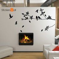 Product Details Bird Wall Art, Vinyl Wall Decals, Vinyl Art, Tree Wall, Wall Décor, Pvc Wall, Mural Wall, Quote Wall, Contemporary Wall Stickers