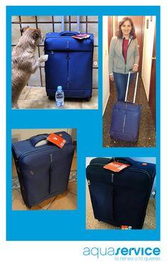 ¡A disfrutarlas! Nos han llegado las primeras fotografías de nuestras maletas en los hogares de sus ganadores y ganadoras. ¡Gracias por compartir la alegría! Nos encanta repartir sonrisas con los sorteos Aquaservice. #regalosaquaservice #aquaservice #sonrisasaquaservice Hearths, Suitcases, Organize, Events