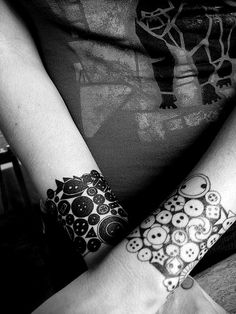 Buttons tattoo. #tattoo #tattoos #ink