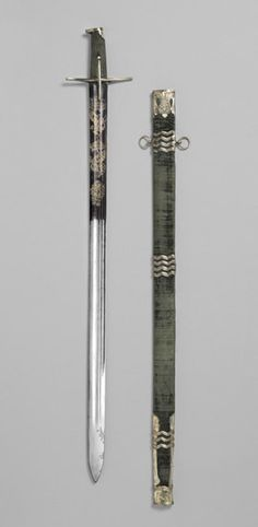 1682 Hungarian Sword and scabbard at the Philadelphia Museum of Art, Philadelphia