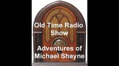 Adventures of Michael Shayne Radio Show Case Of The Mail Order Murders o...
