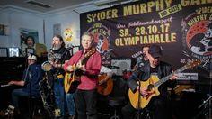 Spider Murphy Gang PK im Vereinsheim für Konzert am 28 10 17 München 21 04 16