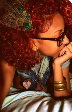 gorgeous red curls