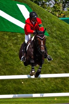 Three of my favs- Eric Lamaze, Hickstead, and Spruce Meadows.