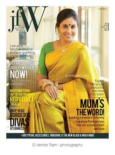 G Venket Ram | Photography | Editorial | JFW | Saranya Ponvannan