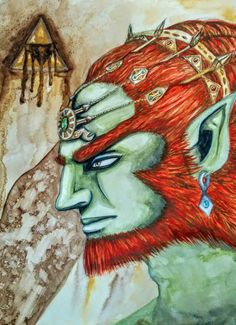 The Legend of Zelda - Ganondorf by AsukaRin.deviantart.com on @DeviantArt