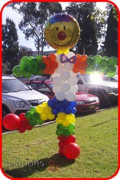 Clown Balloon Sculpture