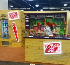 Ready for Day 3 here at #expowest! Come by booth 5646 and tell us why you choose to eat #organic for some free soup coupons!