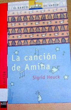 """""""LA CANCIÓN DE AMINA"""" Periodic Table, Diagram, Baseball Cards, Teachers, Short Stories, Literatura, Songs, Reading, Libros"""
