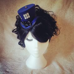 Dr Who hat Tardis hat Doctor Who Time Traveller by OohLaLaBoudoir