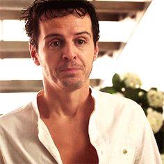 "richardsbrook: "" Andrew Scott- Dates "" Molly Hooper Sherlock, Watson Sherlock, Sherlock Holmes Benedict, Benedict Cumberbatch, Sherlock Actor, Sherlock Cast, Sherlock John, Sherlock Quotes, James Moriarty"
