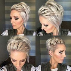 Long undercut pixie – Great styling ideas for the few occasions I straighten my asymmetrical undercut