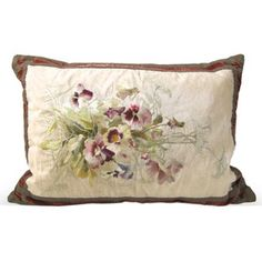 Check out this item at One Kings Lane! Pillow w/ French Antique Needlework