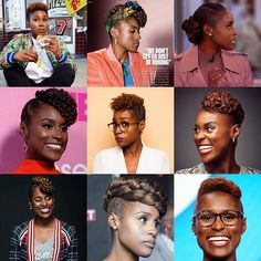 Monday Morning ✨#hairinspo✨ Are you watching #insecure ?? Issa Rae is out here killing the TWA hair game. Have you seen her?? That ain't no wash and go!  The star of Insecure proves shrinkage can't stop you from switching it up. Have a little fun. You don't need a lot of length to have daring styles.  5 easy ways to switch up a TWA •Bobby Pins •Twist or Braids •Add Hair •Hair Accessories •Pop of color  #naturalhair  #TWA #hairstyles  #insecure  #styleadvice  #issarae  #blackgirlmagic…