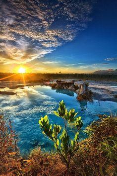Blue Lake, Singkawang, Indonesia #bluelake #singkawang #indonesia #singkawangindonesia #travel #vacation #destination #trips www.gmichaelsalon.com