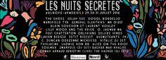 Festival Les Nuits Secrètes 2016 #lns2016 - http://www.unidivers.fr/rennes/festival-les-nuits-secretes-2016-lns2016/ -