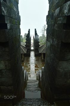 Portal to Another Universe - Portal to Another Universe, Four Gates of Candi Cetho (Cetho Temple) @ Karanganyar, Central Java right after a heavy rain with thick fog Asian Games, Doorway, Ancient Art, Java, Temple, Universe, Culture, Explore, History