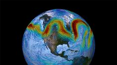 [Click for .gif] How a Wavy Jet Stream Fuels Cold, Hot Weather Extremes | Weather.com