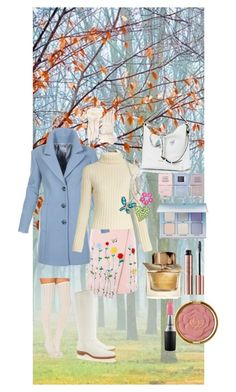 """""""Early Autumn Morning"""" by wendy-collins-1 ❤ liked on Polyvore featuring VIVETTA, Ryan Roche, Free People, Penelope Chilvers, Amanda Rose Collection, Nails Inc., Anastasia Beverly Hills, MAC Cosmetics, Milani and Coccinelle"""