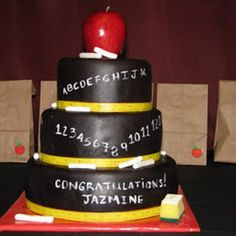 College Graduation Party (Graduation Party)-- what i want when i graduate from teachers college Teacher Graduation Party, College Graduation Parties, Teachers College, Graduation Celebration, School Parties, Grad Parties, College Life, Graduation 2015, Teacher Birthday