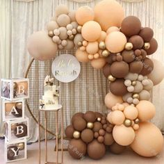 Deco Baby Shower, Baby Shower Balloons, Shower Party, Baby Shower Parties, Baby Shower Themes, Baby Boy Shower, Baby Showers, Bridal Showers, Shower Ideas