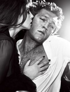 Monica Bellucci & Vincent Cassel (Photography by Vincent Peters)