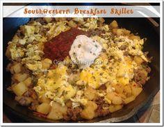 Southwestern Breakfast Skillet Recipe - Greg Kantner - Eggs - Not Just For Breakfast!