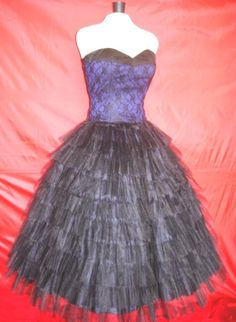 A 50s cocktail dress Lace Corseted bodice and very by elegance50s, $255.00