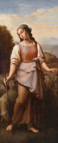 kupelwieser, leopold - The Beautiful Shepherdess
