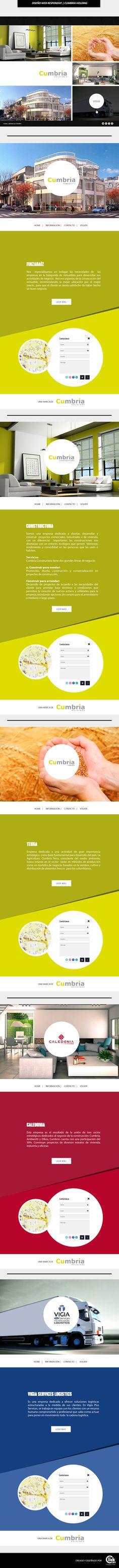 Maquetación - Cumbria Holding