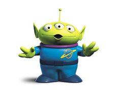 """Pixar Alien: """"I have been chosen."""" #Toy_Story #Pixar #Alien"""