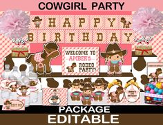 cowgirl party saddle up