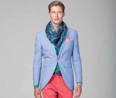 Hackett's new collection has great colors in cotton and linen