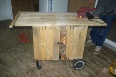 Kitchen cart #Kitchen, #Pallets