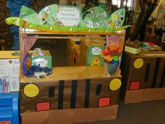 Jungle theme - jungle tour for dramatic play