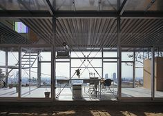 GLASS RESIDENCE IN MT. ROKKO BY TATO ARCHITECTS