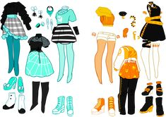 Fashion design sketches 596234438154551269 - Deer's tears — Howleen and Twyla for my original line, Maul… Source by leocadierocher Male Character, Character Outfits, Fantasy Character, Fashion Design Drawings, Fashion Sketches, Cute Drawings, Drawing Sketches, Drawing Tips, Pencil Drawings