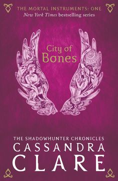 Image result for city of bones book cover