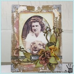 Tammy Tutterow | Stella Embellished Canvas