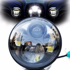 68.50$  Buy here - http://ali9y3.shopchina.info/go.php?t=32687422464 - Only sell DOT SAE EMARK approved 5-3/4 Inch 45W Daymaker Projector LED Headlight for Harley Davidson Motorcycles  #aliexpress #harleydavidsonstreetglide2017