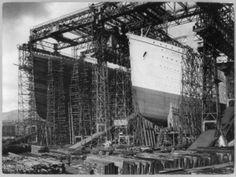 fotos titanic 11 - Así fue construido el Barco que decían jamás se hundiría