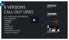 8 Line Call-Outs New After Effects Project Template Files - http://newaftereffectsproject.com/8-line-call-outs-new-after-effects-project-template-files/