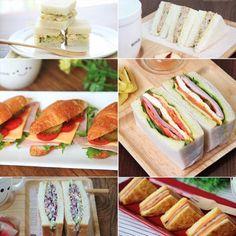 Pin on Food and drink Pin on Food and drink Party Sandwiches, Korean Food, Food Menu, Kimchi, Fresh Rolls, Bento, Food Styling, Bread Recipes, Catering