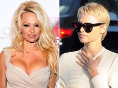 Pamela Anderson's has made very short haircuts for women over 40 very popular.