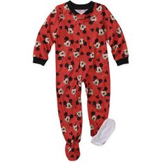 ebe22a1f13 Disney - Baby Boys  Mickey Blanket Sleeper - Walmart.com